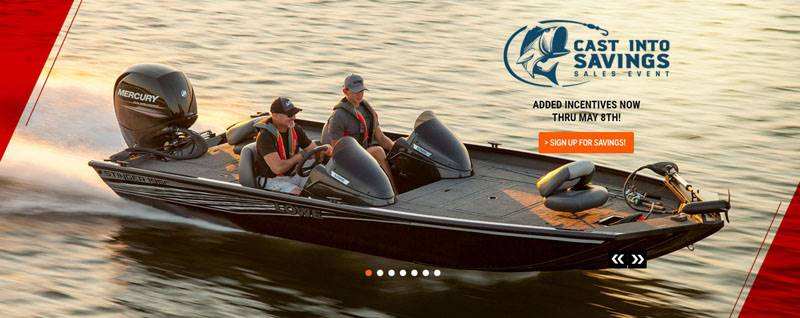 Lowe Boats - Cast Into Saving Sales Event