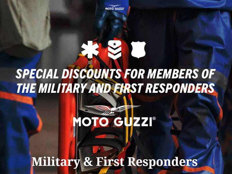 Moto Guzzi - Military & First Responders