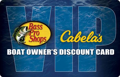 Nitro - Bass Pro Shops and Cabela's VIP Discount Card with NITRO Boat Purchase
