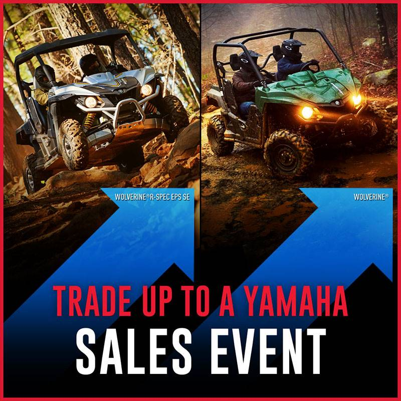 Yamaha - TRADE UP TO A YAMAHA SALES EVENT - Recreation Side by Side