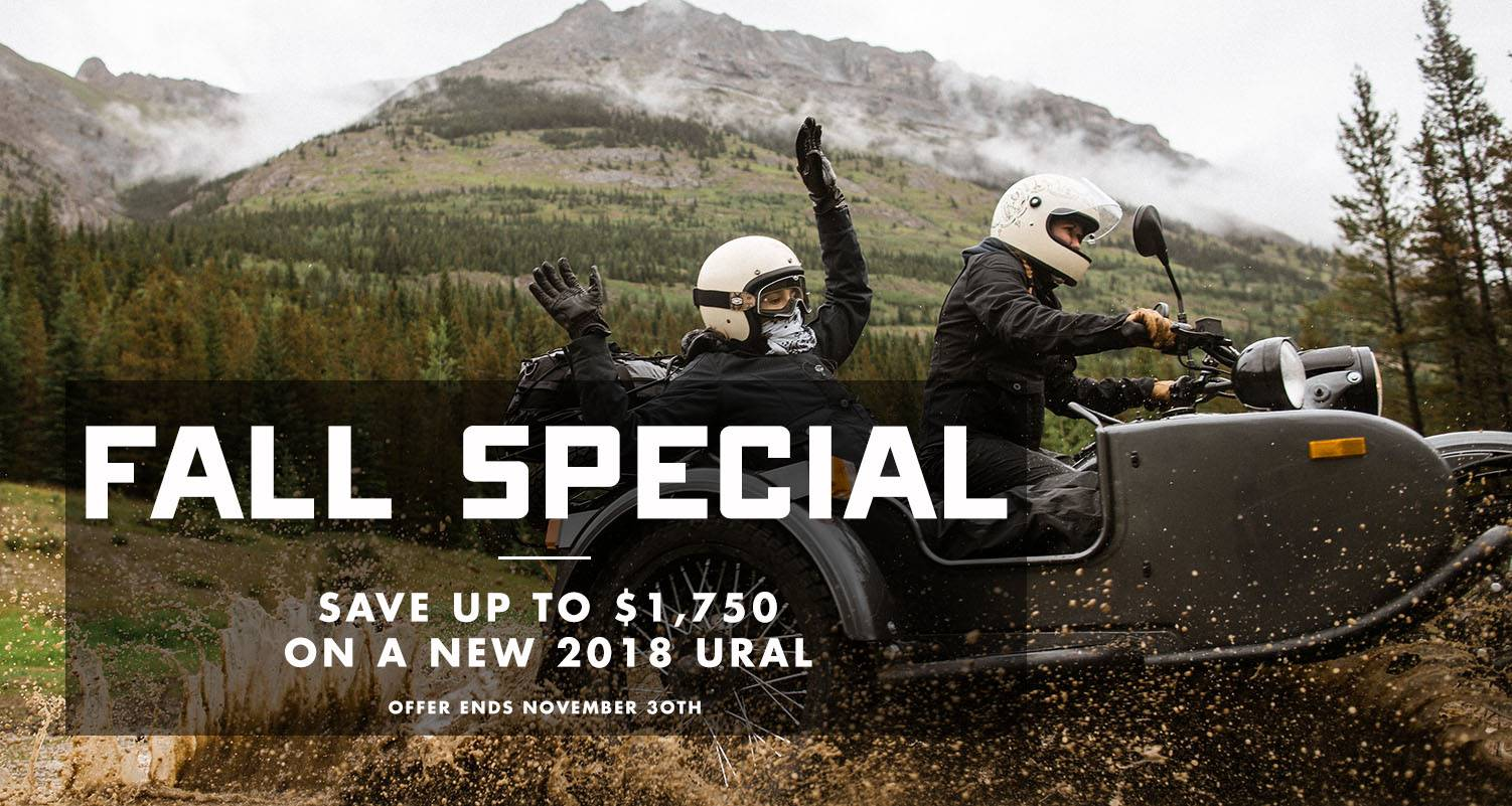 Ural Motorcycles - Fall Special