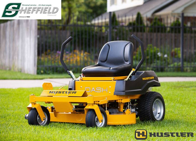 Hustler Turf Equipment - Sheffield Financing Programs