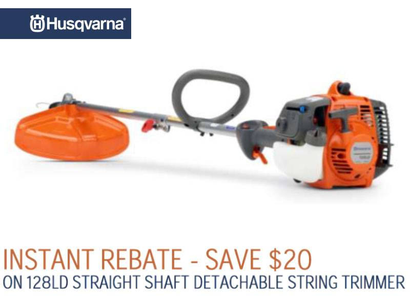 Husqvarna Power Equipment - Instant Rebate Save $20