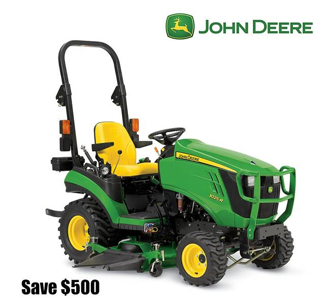 John Deere - Save $500 with cash purchase