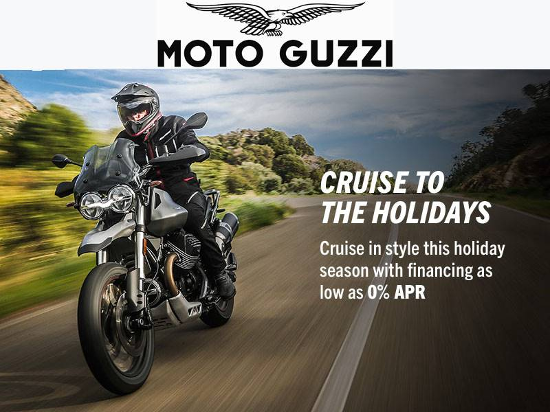 Moto Guzzi - Cruise To The Holidays