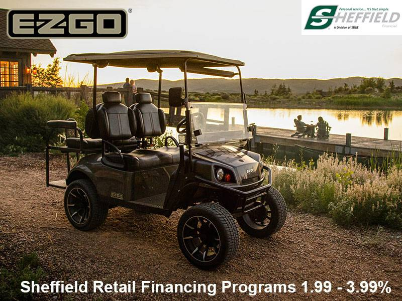 E-Z-GO - Sheffield Retail Financing Programs 1.99 - 3.99%