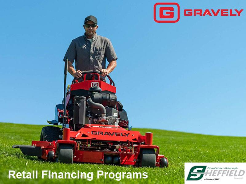 Gravely USA - Sheffield Financing Program for 0 % - 7.99%
