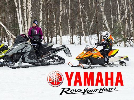 Yamaha Motor Corp., USA Yamaha - Current Offers and Financing - Snowmobiles