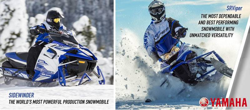 Yamaha Snowmobile - Free 1 Year Y.E.S. Extended Service Warranty Coverage