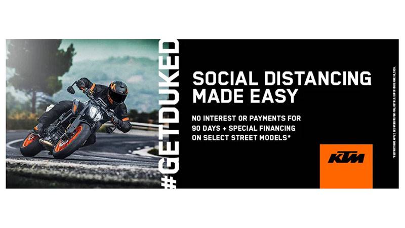 KTM - Social Distancing Made Easy