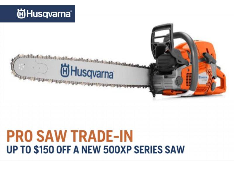 Husqvarna Power Equipment - Pro Saw Trade In