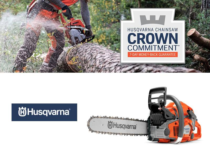 Husqvarna Power Equipment - Pro Chainsaw Crown Commitment Guarantee