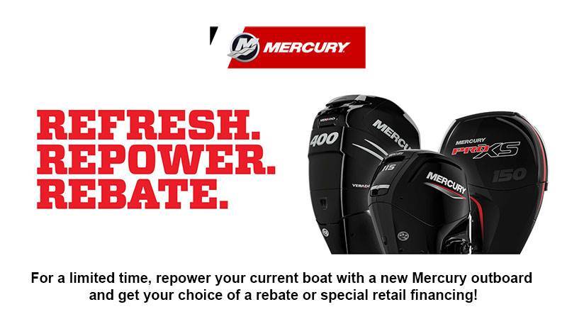 Mercury Marine - Refresh. Repower. Rebate.