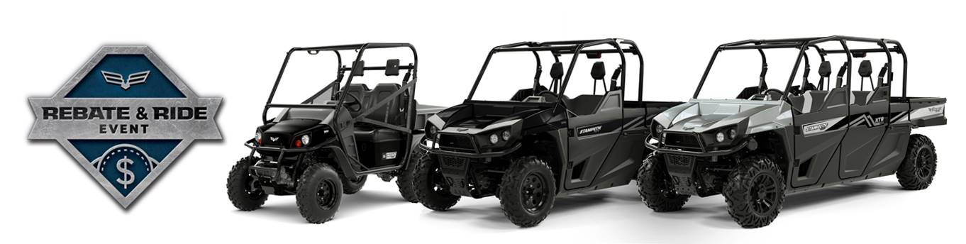 Bad Boy Off Road Rebate and Ride Sales Event