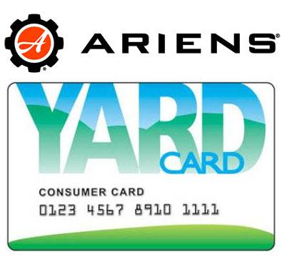 Ariens USA Ariens - Yard Card Financing Programs