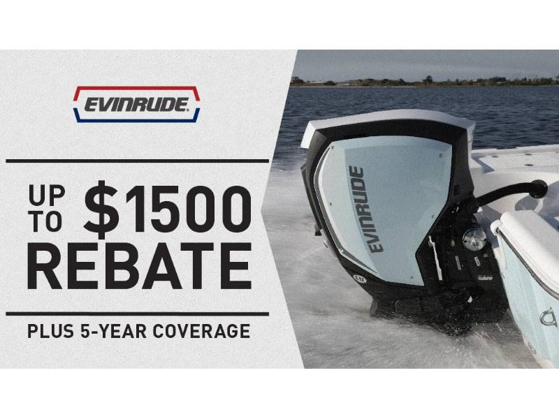 Evinrude - Make Your Boat Better with 5 Year Coverage