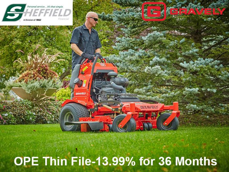 Gravely USA - Sheffield - OPE Thin File-13.99% for 36 Months