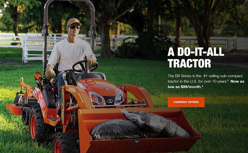 Kubota - Promo Payment Offer