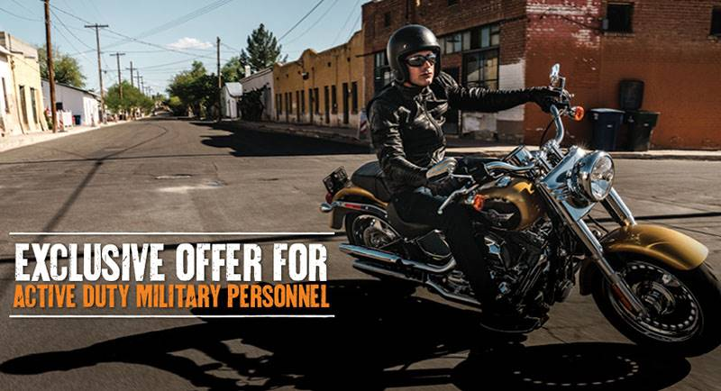 Harley-Davidson - Stateside Active Military Financing Program