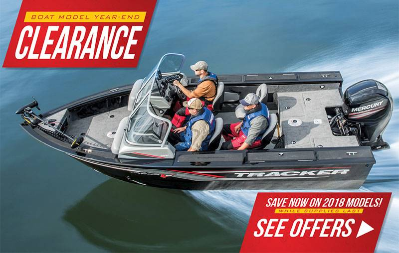 Tracker - 2018 Model Year End Clearance