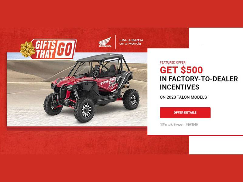 Honda - Gifts That Go - All ATVs and SxS