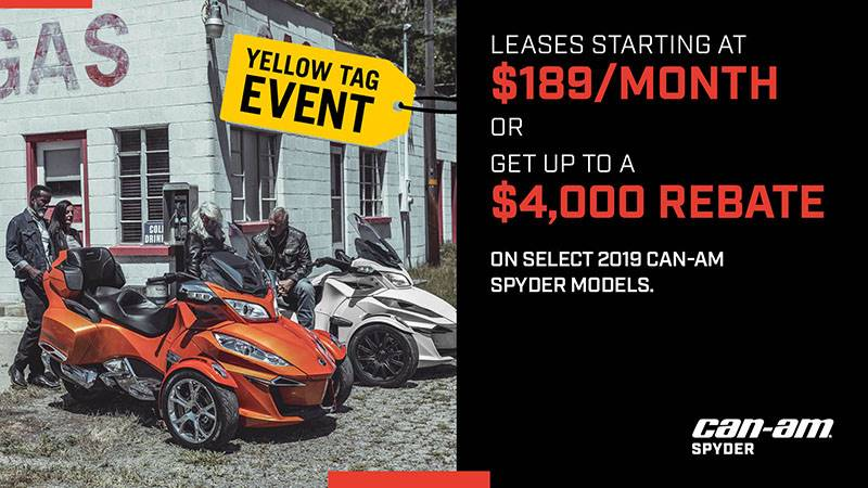 Can-Am - Yellow Tag Sales Event