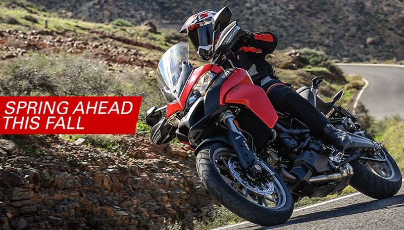 Ducati - Spring Ahead This Fall - Monster, Multistrada, Superbike, SuperSport, Diavel, Hypermotard, Scrambler