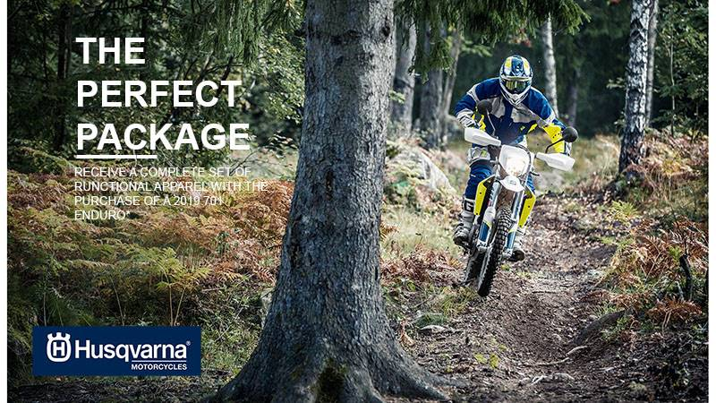 Husqvarna - The Perfect Package