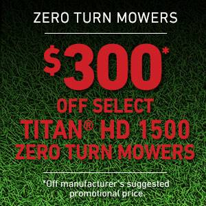 Toro - $300 USD Off Select TITAN HD 1500 Series Mowers