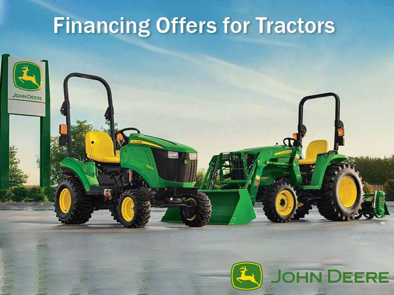 John Deere - Financing Offers for Tractors