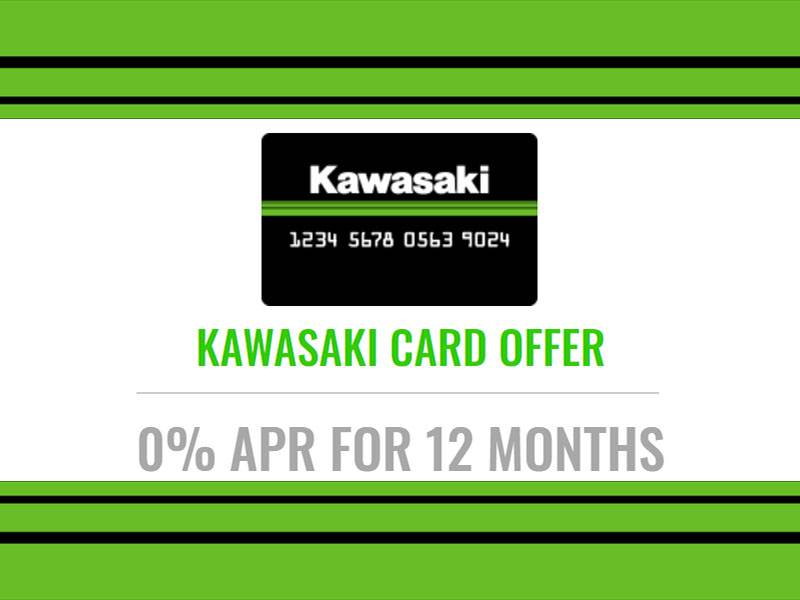 Kawasaki - The Kawasaki Card Offer