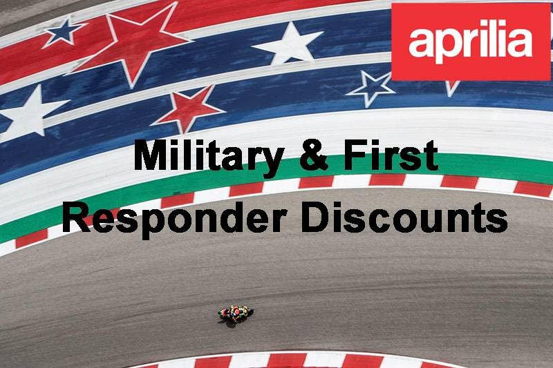 Aprilia - Military & First Responders
