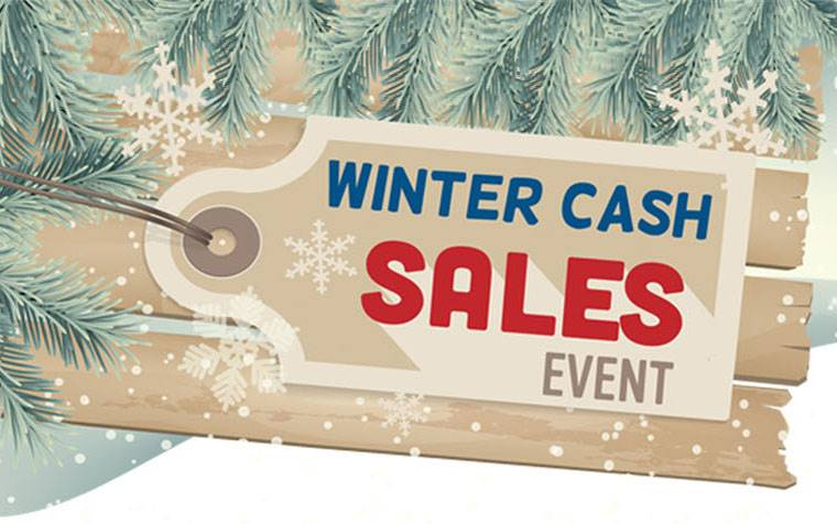 Sunchaser - Winter Cash Sales Event