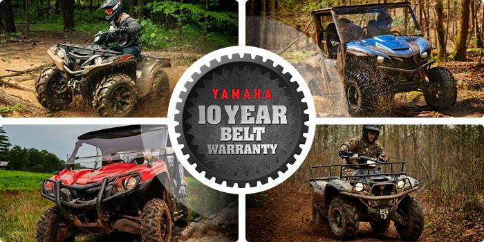 Yamaha Motor Corp., USA Yamaha - 10 Year Belt Warranty