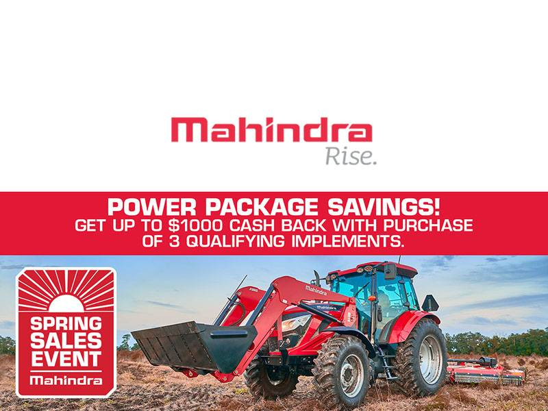 Mahindra - Power Package Saving!