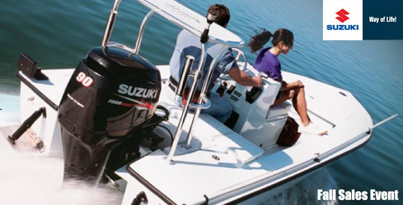 Suzuki Marine - Fall Sales Event