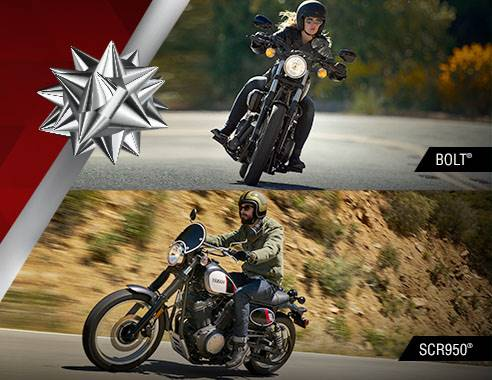 Yamaha Motor Corp., USA Yamaha - Holiday Sales Event - Road Motorcycles