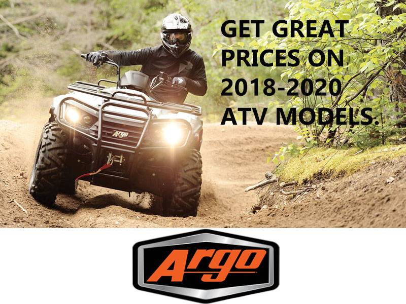 Argo - Get Great Prices on 2018-2020 ATV Models