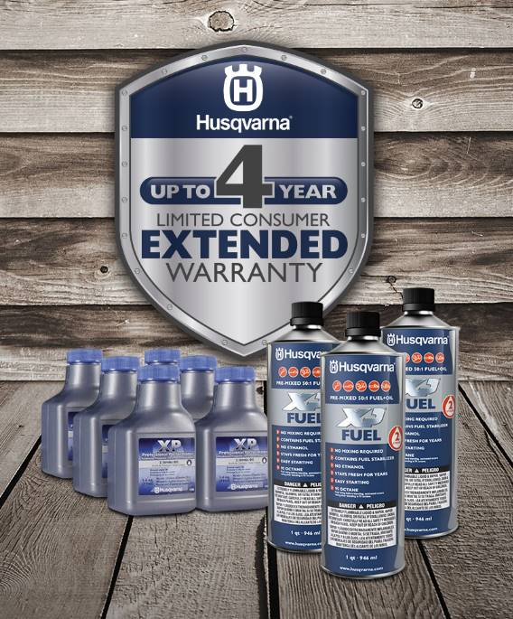 Husqvarna Power Equipment - Extended Warranty
