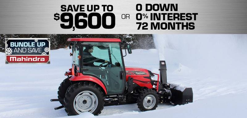 Mahindra - 2019 Bundle Up & Save