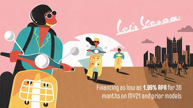 Vespa - Let'S Vespa! - Financing as low as 1.99% APR for 36 months