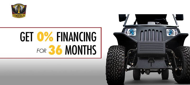 Tomberlin - Get 0% Financing for 36 Months