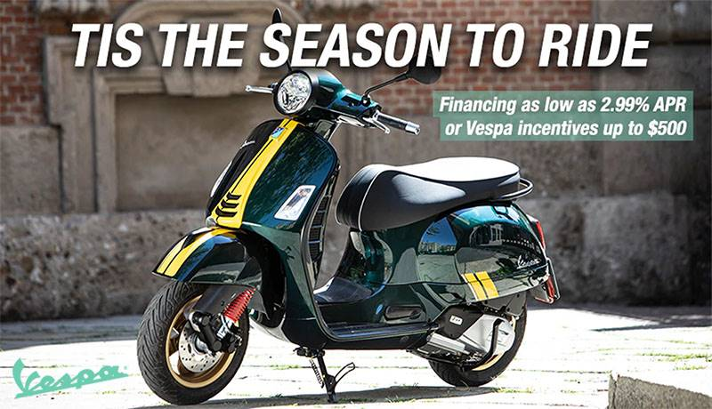 Vespa - Tis The Season To Ride