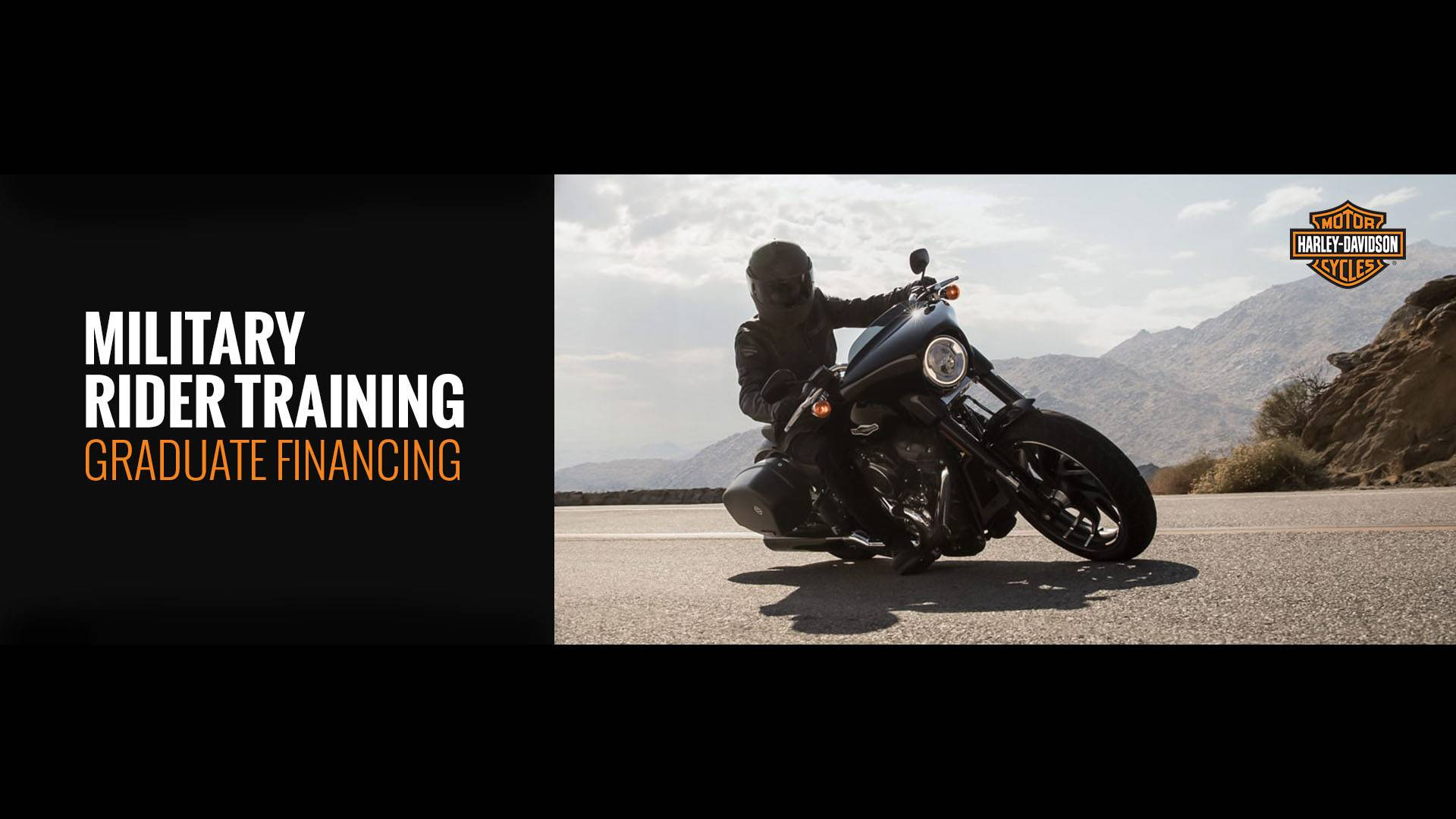 Harley-Davidson - Military Rider Training Graduate Financing