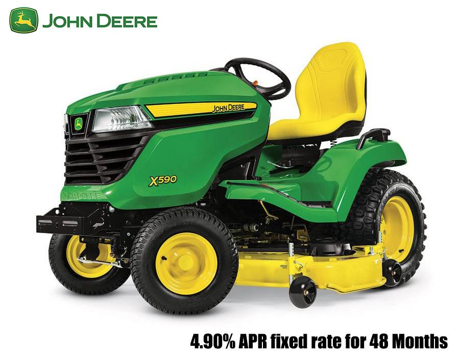 John Deere - 4.90% APR fixed rate for 48 Months