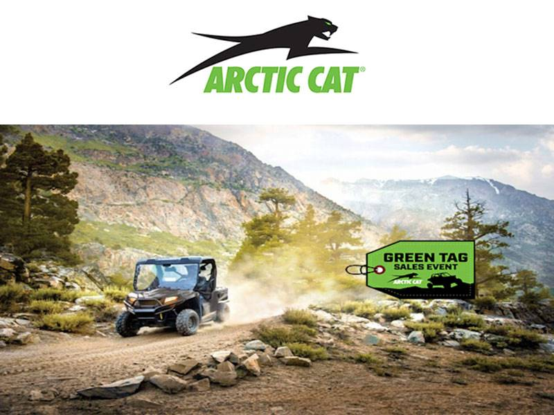 Arctic Cat - Green Tag Sales Event
