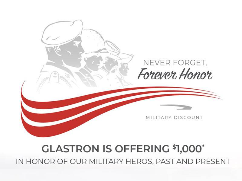 Glastron - NEVER FORGET, Forever Honor