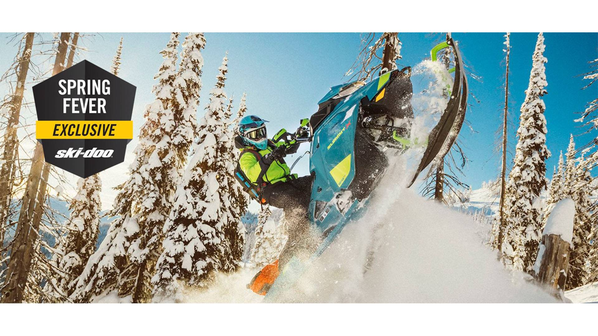 Ski-Doo - Spring Fever Exclusive - All 2020 Models