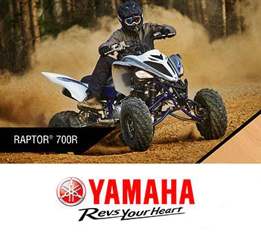 Yamaha Motor Corp., USA Yamaha Sport ATV - Current Offers and Financing