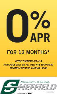 Hustler Turf Equipment - 0% APR for 12 Months